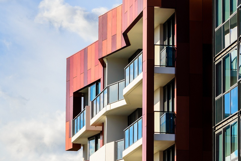 Fairview Architectural's Ceramapanel is a cost effective cladding solution offering an extensive colour range.