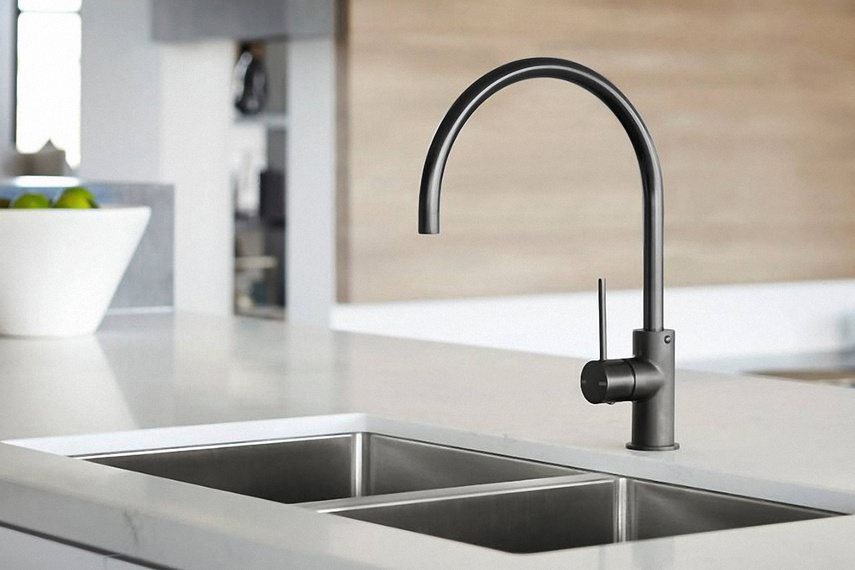 The Vivid Slimline Sink Mixer in Onix Matte Black is part of Phoenix Tapware's high quality, distinctive tapware and bathroom accessory range.